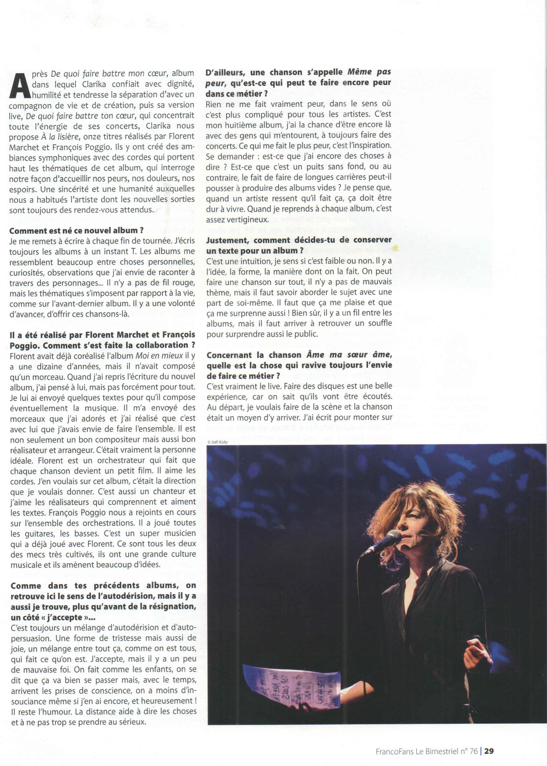 Clarika - FrancoFans 2