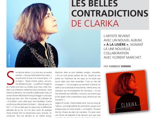 L'Est Républicain – Les belles contradictions de Clarika